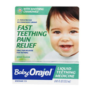 Baby Orajel Naturals Teething Pain Relief