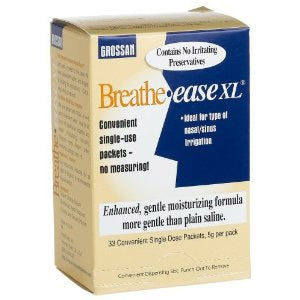 Breathe Ease XL Saline Packets