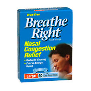 Breathe Right Mentholated Vapor Strips 10ct