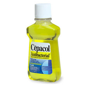 antimicrobial mouth rinse a corticosteroid ointment