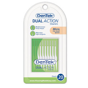 Dentek Dual Action Cleaners
