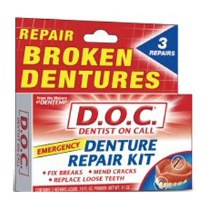 Dentist On Call Denture Repair Kit