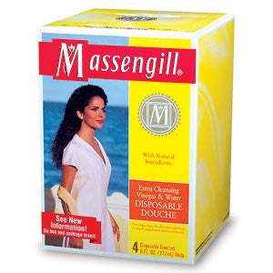 Massengill Extra Cleansing Vinegar and Water Disposable Douche