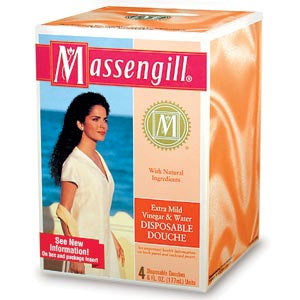 Massengill Extra Mild Vinegar and Water Disposable Douche