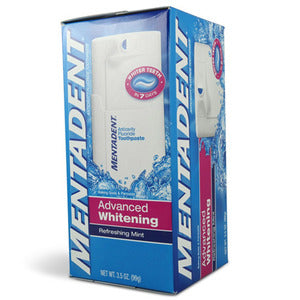 Mentadent Advanced Whitening Toothpaste