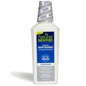 Natural Dentist Pre-Brush Whitening Rinse