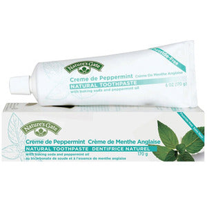 Nature's Gate Whitening Gel Natural Toothpaste