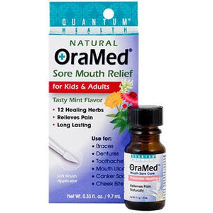 OraMed Natural Sore Mouth Relief