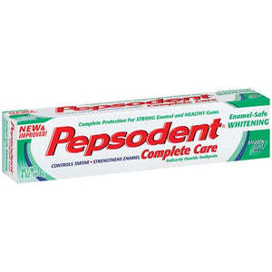 Pepsodent Complete Care Enamel-Safe Whitening Toothpaste