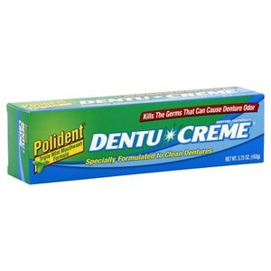 Polident 3-Minute Double Action Denture Cleanser