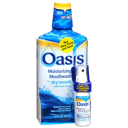 Oasis Mouthwash and Mouth Spray for Dry Mouth from Sensodyne