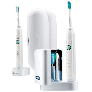 Sonicare HealthyWhite Toothbrush Premium with UV Sanitizer