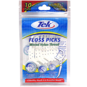 Tek Floss Picks