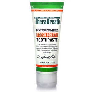 TheraBreath No Fluoride Toothpaste