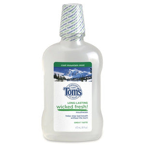 Tom's of Maine Long-Lasting Wicked Fresh Mouthwash