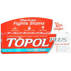 TOPOL Plus Fresh Mint Toothpaste