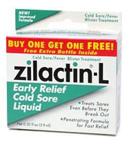 Zilactin-L Cold Sore Liquid