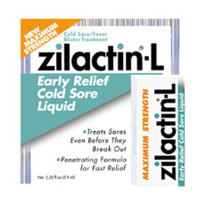 Zilactin-L Cold Sore Treatment - Liquid