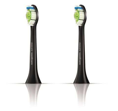 Philips Sonicare Diamond Clean Black Edition- Standard Brush Heads 2 Pack - Dentist.net