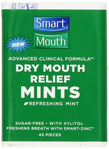 SmartMouth Sugar Free Mints with Zinc - Dentist.net