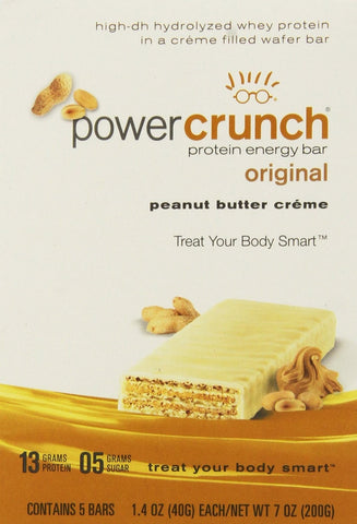 BNRG, Power Crunch Peanut Butter Creme 12-1.4 oz Cookies - Dentist.net