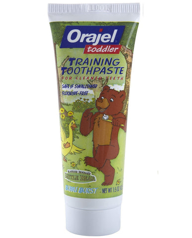Orajel Toddler Training Toothpaste - Dentist.net