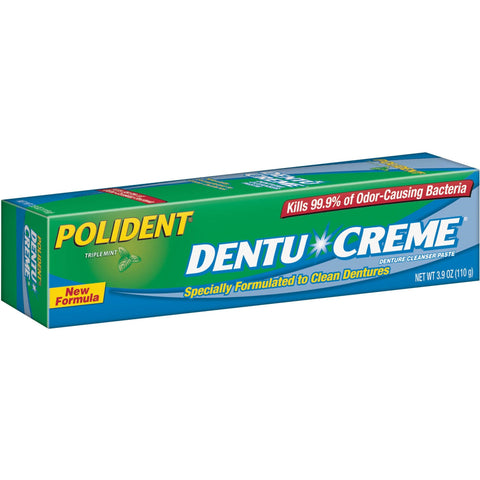 Polident Denture Cleaning Toothpaste - Dentist.net