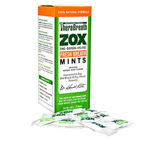TheraBreath ZOX Mints -