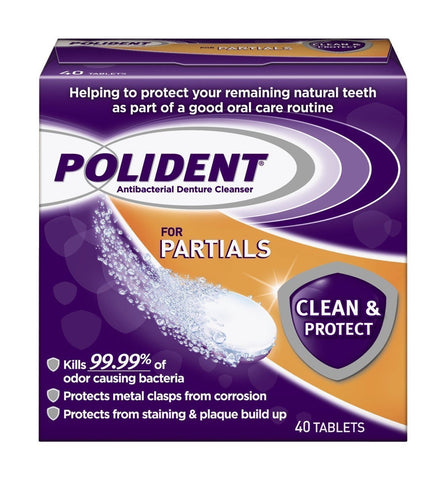Polident for Partials Clean & Protect Cleanser - Dentist.net
