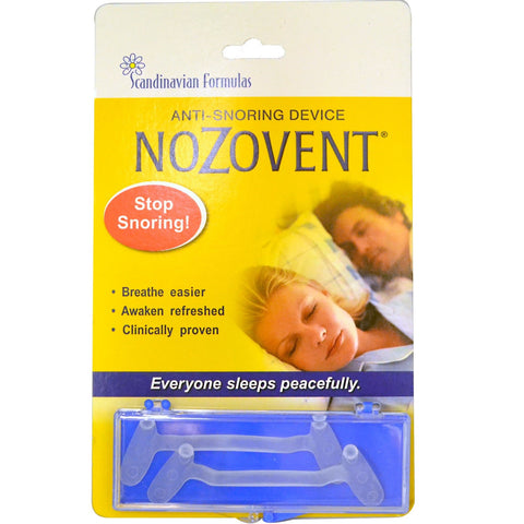 NoZovent Anti-Snoring Device - Dentist.net
