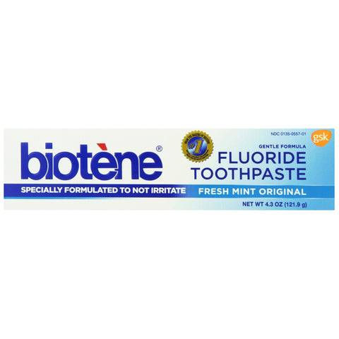 Biotene Fluoride Fresh Mint Original Toothpaste - Dentist.net
