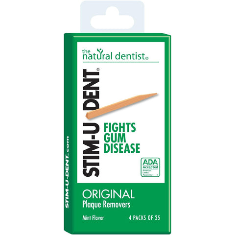Natural Dentist Stim-U-Dent Plaque Removers - Dentist.net