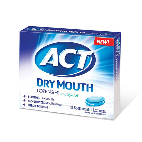 ACT Dry Mouth Lozenges with Xylitol - Dentist.net