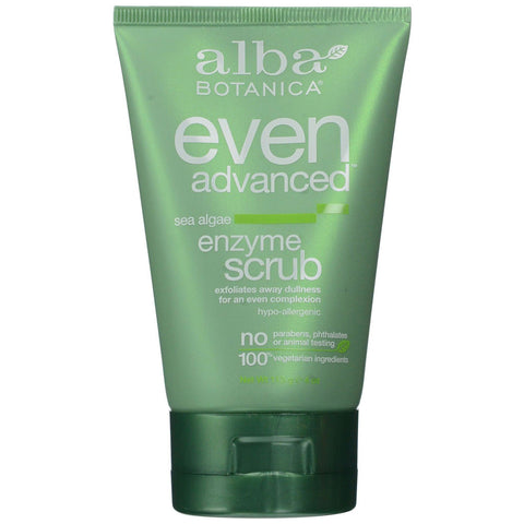 Alba Botanica Sea Algae Enzyme Facial Scrub - Dentist.net