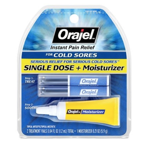 Orajel Single Dose + Moisturizer - Dentist.net