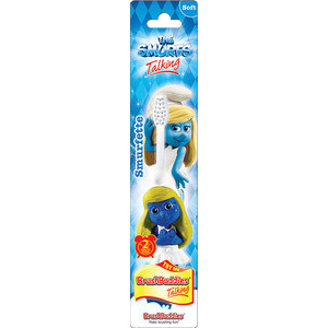 Brush Buddies The Smurfs Talking Toothbrush -Smurfette - Dentist.net