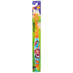 Reach Kids Phineas and Ferb Toothbrush - Dentist.net