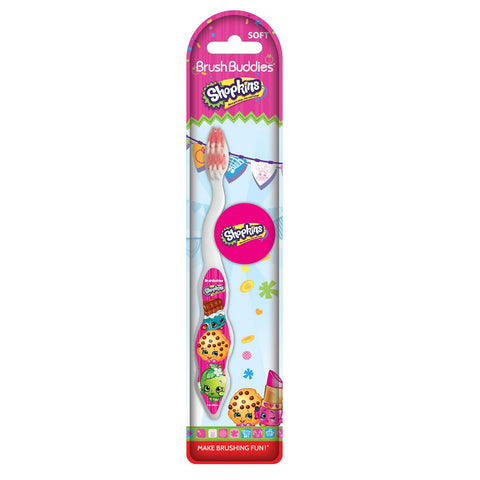 Shopkins 1 Pack Toothbrush W/Cap - Dentist.net