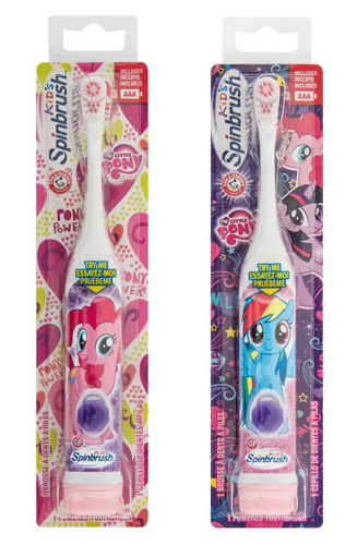 Spin Brush For Bathroom: Spinbrush My Little Pony