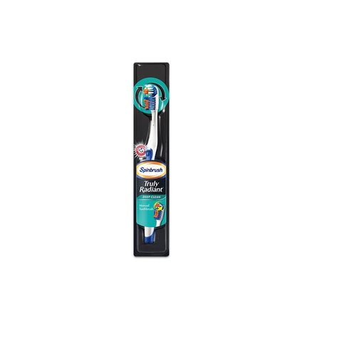 Spinbrush Truly Radiant Deep Clean Manual Toothbrush -