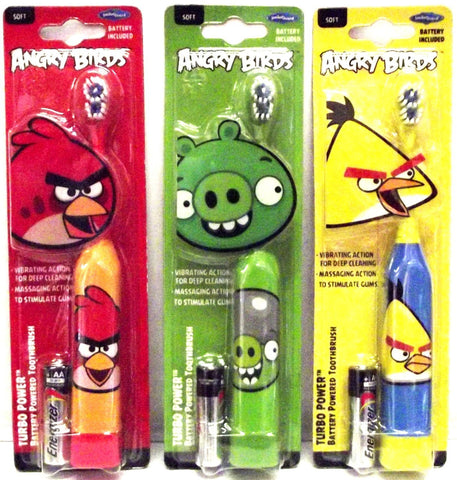 Angry Birds Turbo Power Toothbrush - Dentist.net