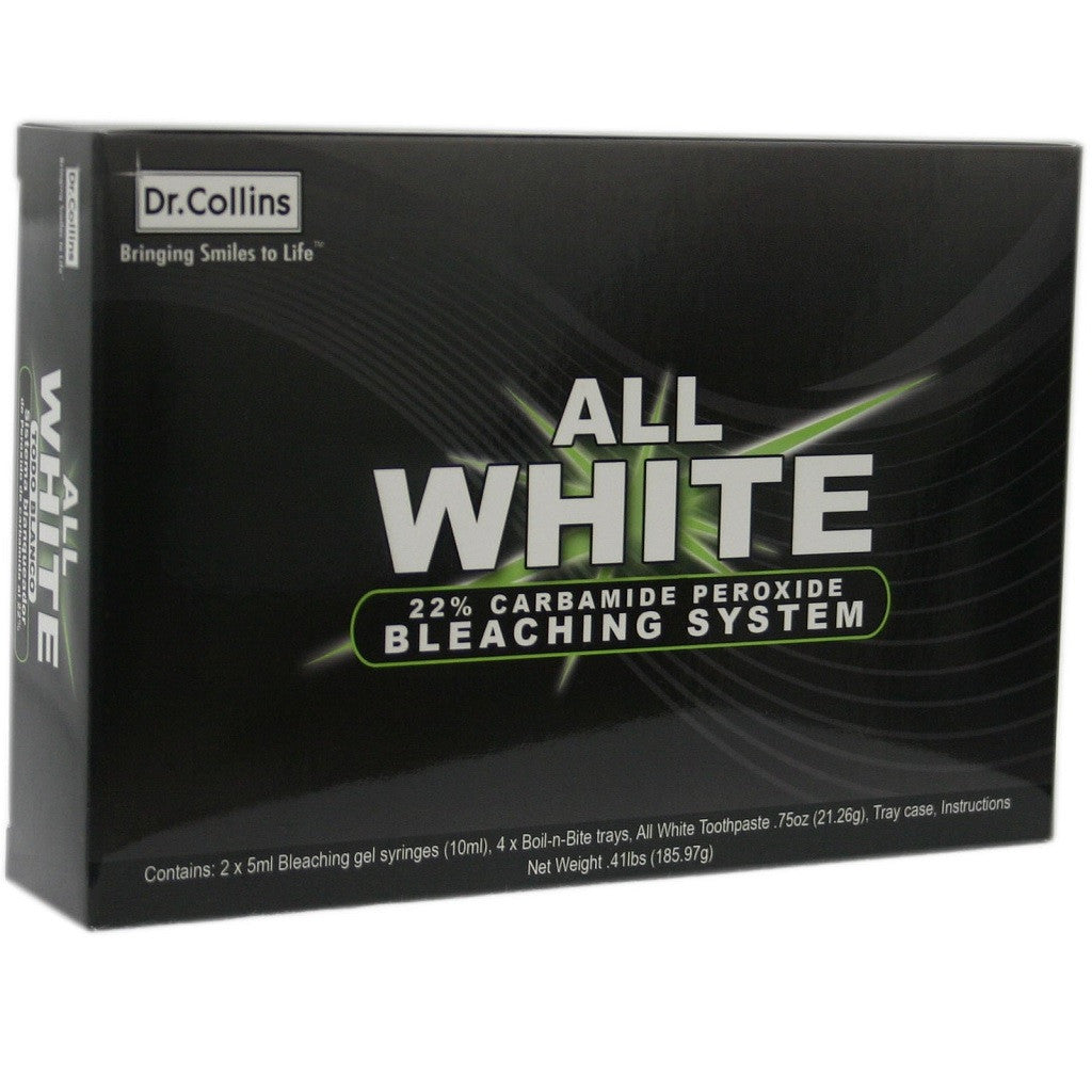 Dr Collins All White Bleaching System At Home Teeth Whitening