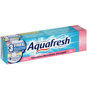 Only Aquafresh's Sensitive Teeth Toothpaste has become increasingly difficult to find in all the local drugstores. Glad to find it online. Product arrived quickly, fresh and well packaged/5().