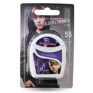 Brush Buddies Justin Bieber Floss - Dentist.net