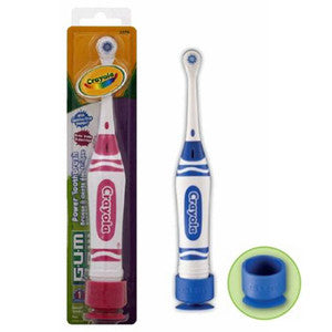 Butler Gum Crayola Power Toothbrush - Dentist.net
