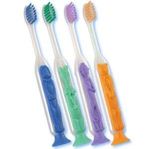 Butler Gum Lil Safari Friends Toothbrush-#219 - Dentist.net