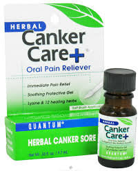 Canker Care + Herbal Canker Sore Gel - Dentist.net
