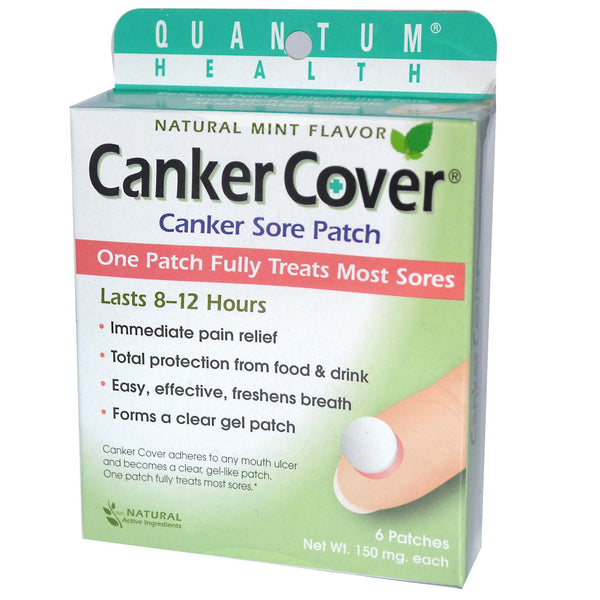 Canker Cover, canker sores, canker sore patches, canker ...
