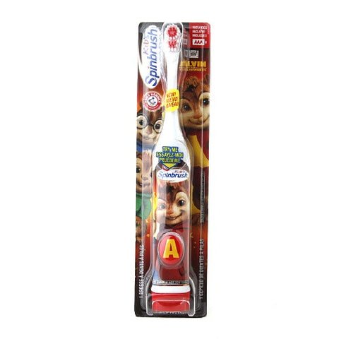 SpinBrush Kids Arm & Hammer Alvin & The Chipmunks - Dentist.net