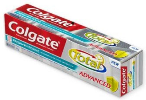 Colgate Total Advanced Fresh Gel - Travel Size - Dentist.net